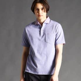 【ex/tra】サーフニットポロシャツ (88ラベンダー)