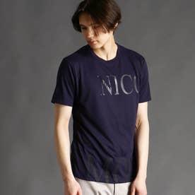 ロゴプリントTシャツ (60ブルー)