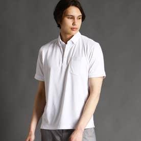ボタンダウンポロシャツ (09ホワイト)