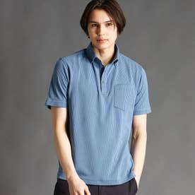 ボタンダウンポロシャツ (60ブルー)