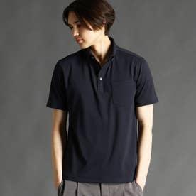 ボタンダウンポロシャツ (67ネイビー)
