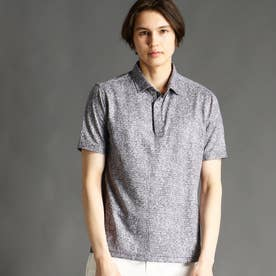 ZIPポロシャツ (49ブラック)