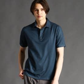 ZIPポロシャツ (67ネイビー)
