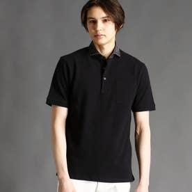 鹿の子ポロシャツ (49ブラック)