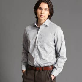 【ex/tra】CANCLINI ドレスシャツ (49ブラック)