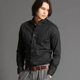 【ex/tra】Albiate カッタウェイカラーシャツ (49ブラック)