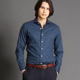 【ex/tra】Albiate カッタウェイカラーシャツ (60ブルー)