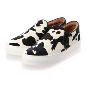スリッポンシューズ (COW WHITE/BLACK)