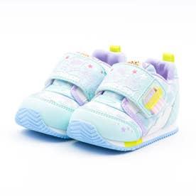 ベビー キッズ 男の子 女の子 スニーカー アンパンマン ベビーベビー赤ちゃん 靴 ファーストワイド (ミント)