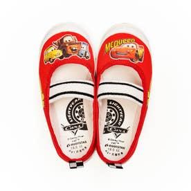 上履き 上靴 キャラクター ディズニー プリンセス カーズ アナ雪 ソフィア ミッキー 男の子 女の子 キッズ (【カーズ】レッド)