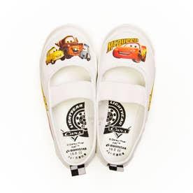 上履き 上靴 キャラクター ディズニー プリンセス カーズ アナ雪 ソフィア ミッキー 男の子 女の子 キッズ (【カーズ】ホワイト)