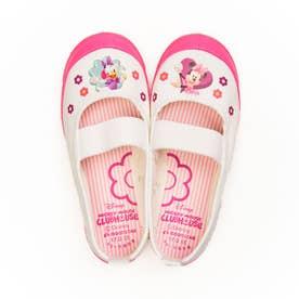 上履き 上靴 キャラクター ディズニー プリンセス カーズ アナ雪 ソフィア ミッキー 男の子 女の子 キッズ (【ミッキー&フレンズ】ピンク)