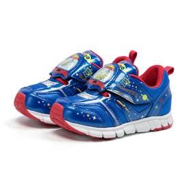 キッズ 男の子 子供 スニーカー ディズニー 靴 運動靴 トイストーリー リトルグリーンメン バズ (ブルー)