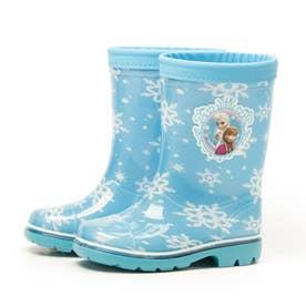 アナ雪 アナと雪の女王 アナ エルサ 長靴 レインブーツ キッズ ディズニー レイン洗えるインソール (サックス)