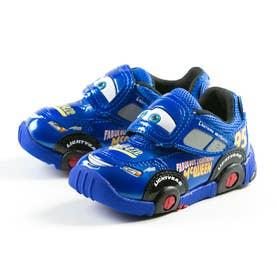 キャラクター カーズ スニーカー マックイーン ピクサー 靴 ベビー キッズ 子供靴 DN C1200 レッド ブルー (ブルー)