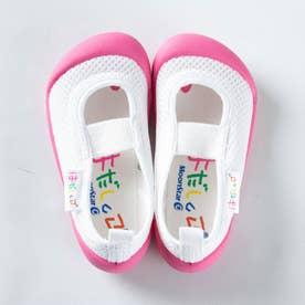 上履き 上靴 はだしっこ 蒸れにくい 日本製 軽量 通気性 抗菌 防臭 幼稚園 小学校 男の子 女の子 小学校 (ピンク)