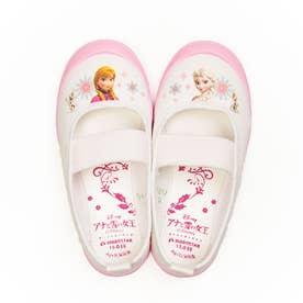 上履き 上靴 キャラクター ディズニー プリンセス カーズ アナ雪 ソフィア ミッキー 男の子 女の子 キッズ (【アナ雪】ピンク)