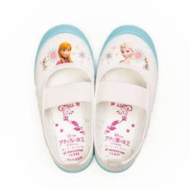 上履き 上靴 キャラクター ディズニー プリンセス カーズ アナ雪 ソフィア ミッキー 男の子 女の子 キッズ (【アナ雪】サックス)