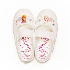 上履き 上靴 キャラクター ディズニー プリンセス カーズ アナ雪 ソフィア ミッキー 男の子 女の子 キッズ (【アナ雪】ホワイト)