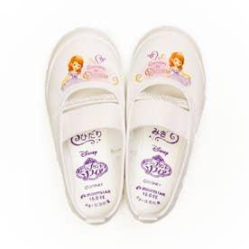 上履き 上靴 キャラクター ディズニー プリンセス カーズ アナ雪 ソフィア ミッキー 男の子 女の子 キッズ (【ソフィア】ホワイト)