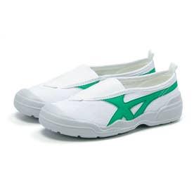 上靴 上履き キッズ ジュニア 男の子 女の子 バイオテフLT01 スクール 小学校 中学校 大人 軽量 抗菌 (グリーン)