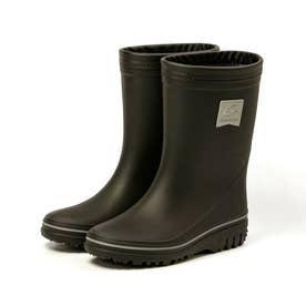 長靴 雨靴 雨 レインブーツ MS RBJ12 子供靴 男の子 防災 靴 ジュニア シンプル カモフラ 星柄 ブラック (ブラック)