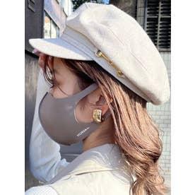 【NEW Color】MURUAウォッシャブルマスク×2枚SET【返品不可商品】 (モカ)
