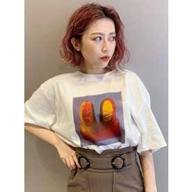 【MURUA×motty】ユニセックスTシャツ(ホワイト)