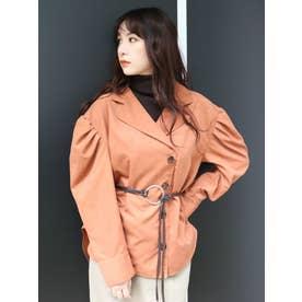 タートルレイヤーパワショルシャツ(オレンジ)