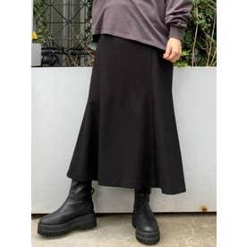 ニュアンスマーメイドスカート(ブラック)