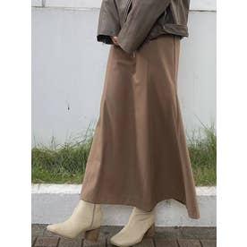 ニュアンスマーメイドスカート(ブラウン)