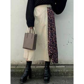 アラベスクドッキングスカート(アイボリー)