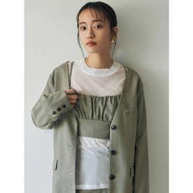 シアーロングルーズTシャツ(ホワイト)