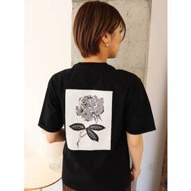 【MURUA×山代エンナ】プリントTシャツ(ブラック)