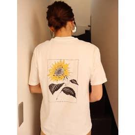 【MURUA×山代エンナ】サンフラワーTシャツ(ホワイト)
