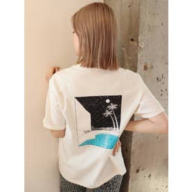 【MURUA×山代エンナ】スターダストプールTシャツ(ホワイト)