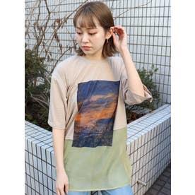 シアードッキングTシャツ(グレー)