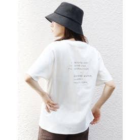 スラッシュパタンナーTシャツ(ホワイト)