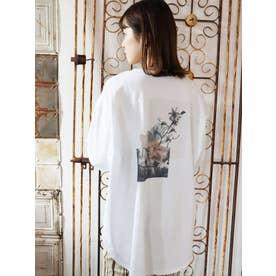 MirageロングスリーブTシャツ(ホワイト)