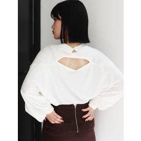 UninterruptedロングスリーブTシャツ(ホワイト)