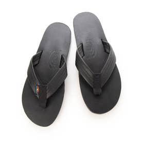 ビーチサンダル Rainbow Sandals MEN Classic Leather 301ALTS-CL (ブラック)