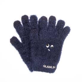 GLAMLIN(グラムリン)の手袋(ネイビー)