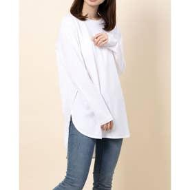 ラウンドTシャツ (白)