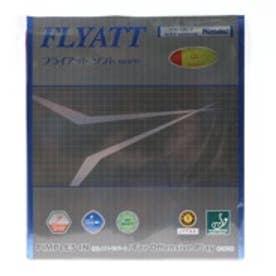 卓球 ラバー(裏ソフト) フライアット ソフト 厚さ:中/赤 2820283505