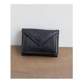 オリジナルプリント裏地財布 (BK)