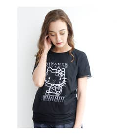 Hello Kitty チュールTシャツ (BK)