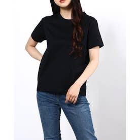 袖刺繍T (BK)