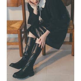 ストレッチロングブーツ ブラック