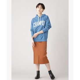 フェイクレザータイトスカート キャメル