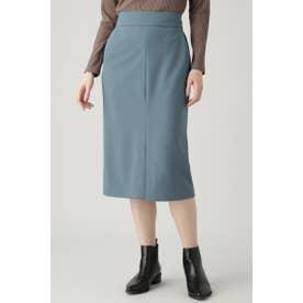 ハイウエストストレッチタイトスカート ブルー